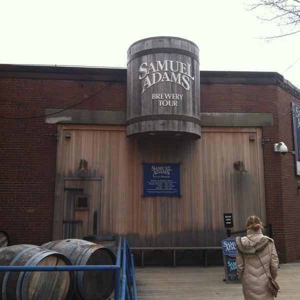 Photo taken at Samuel Adams Brewery by Christian M. on 3/14/2013