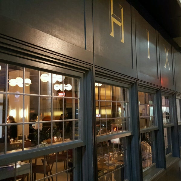 Photo taken at Hix by Michael R. on 2/10/2017