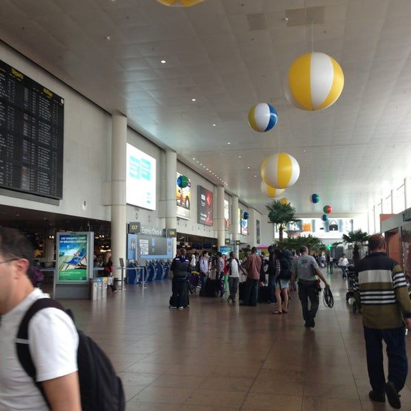 Снимок сделан в Брюссельский аэропорт (BRU) пользователем Sophie F. 7/2/2013