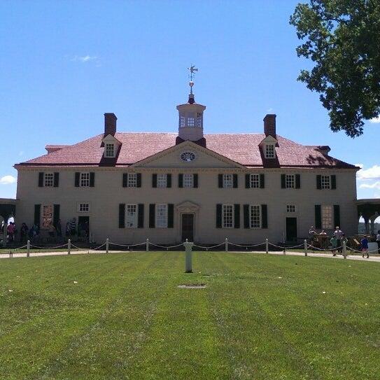 Photo taken at George Washington's Mount Vernon by Steve P. on 6/14/2013