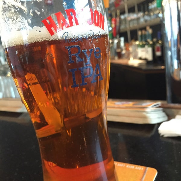 Photo taken at Harpoon Tap Room by Patrick S. on 5/13/2015