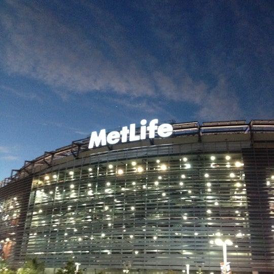 Photo taken at MetLife Stadium by Erica O. on 9/19/2012