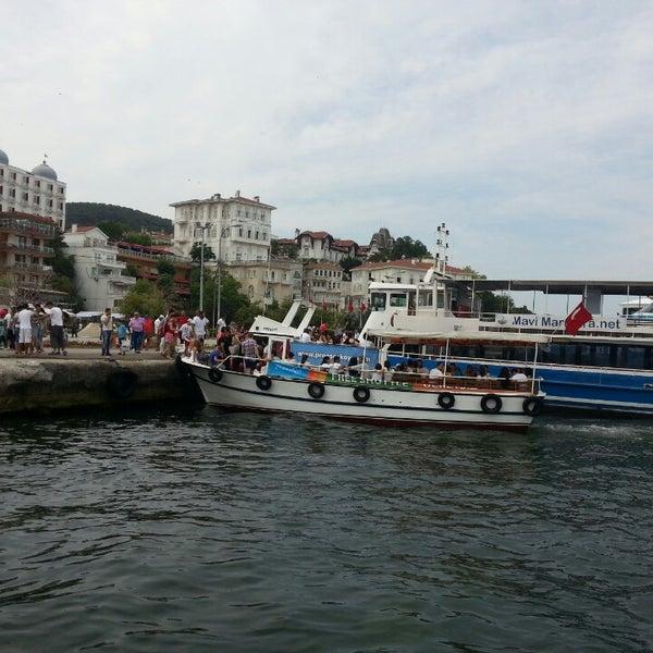 Photo taken at Büyükada Mavi Marmara Motor İskelesi by Adil E. on 7/7/2013