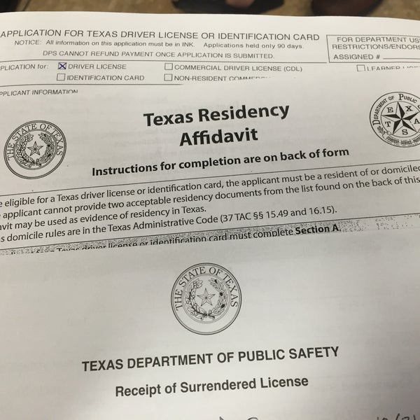 Austin drivers license office state of texas drivers for Polk county motor vehicle registration