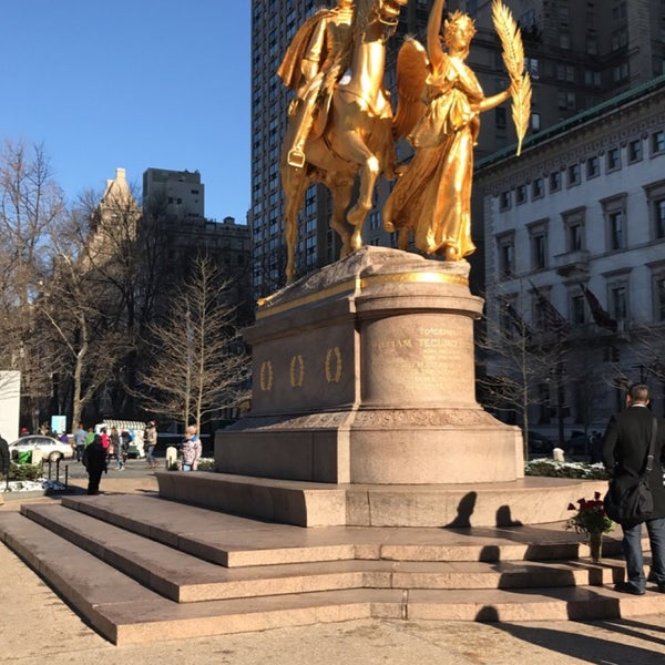 Photo taken at Grand Army Plaza by Martina S. on 1/15/2017
