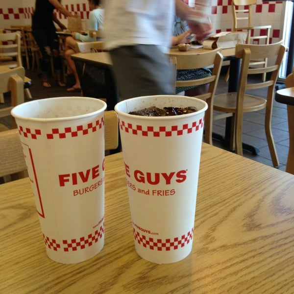 Photo taken at Five Guys by Kyle P. on 5/22/2013