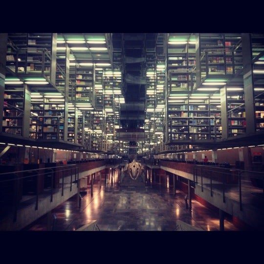 Photo taken at Biblioteca Vasconcelos by Feri M. on 10/13/2012
