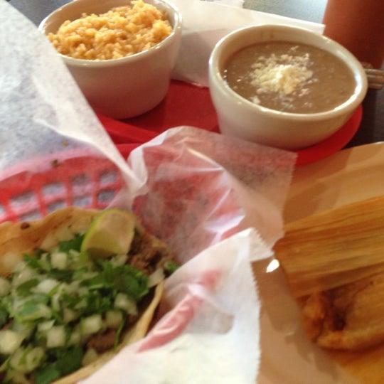 Photo taken at Tia Cori's Tacos by Trish K. on 11/20/2012