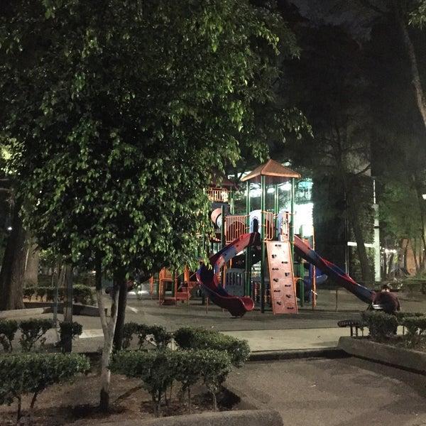 Photo taken at Jardin Morelos by Carlos R. on 3/20/2016