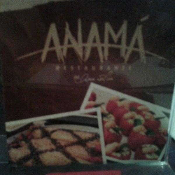 Foto tirada no(a) Anamá Restaurante por Rafael C. em 7/9/2013