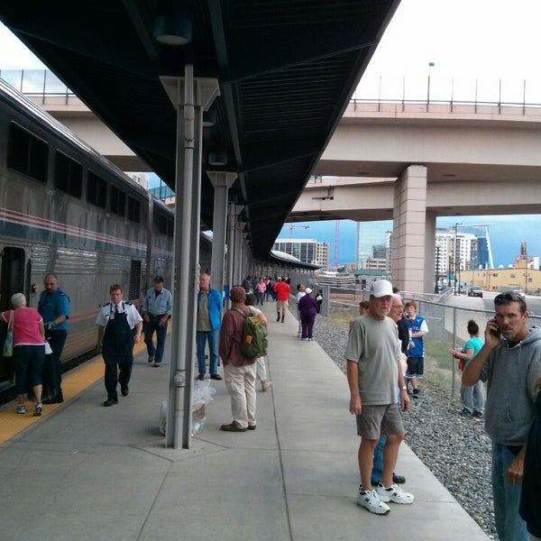 Photo taken at Denver Amtrak (DEN) by Eric W. on 8/27/2013