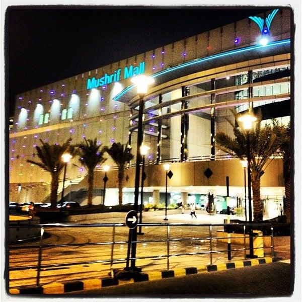 Photo taken at Mushrif Mall by Joooooooooooooooooooo on 9/28/2012