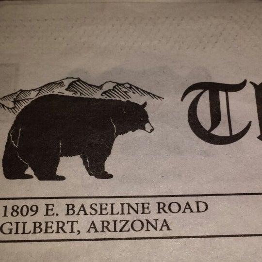 Photo taken at Gilbert Black Bear Diner by Samra H. on 11/26/2013