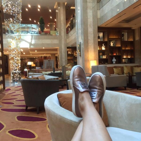 Снимок сделан в Marriott Novy Arbat пользователем Mary S. 8/25/2016