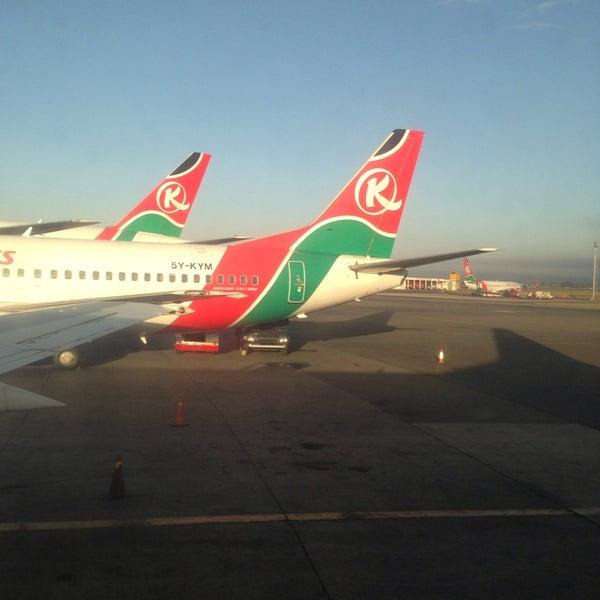 Photo taken at Jomo Kenyatta International Airport (NBO) by Maged M. on 5/30/2013