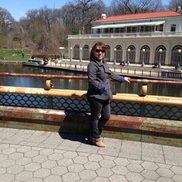 Photo taken at Prospect Park Boathouse & Audubon Center by Geralda C. on 4/14/2013