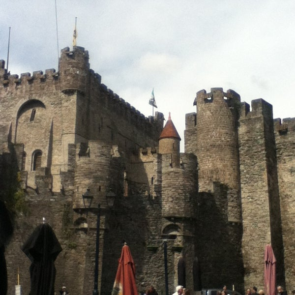 Photo taken at Castle of the Counts by Justine R. on 4/30/2013