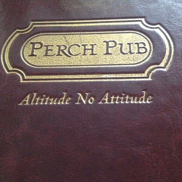 Photo taken at Perch Pub by Mandy L. on 5/12/2013