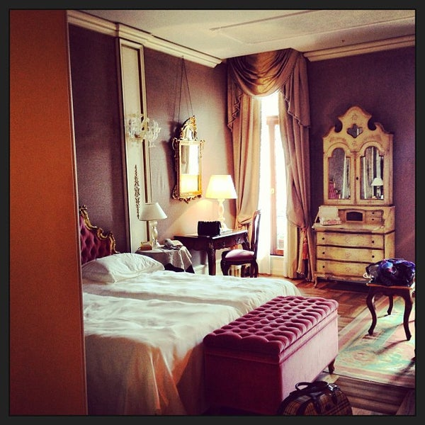 Photo taken at Ca' Sagredo Hotel Venice by Polina T. on 5/10/2013