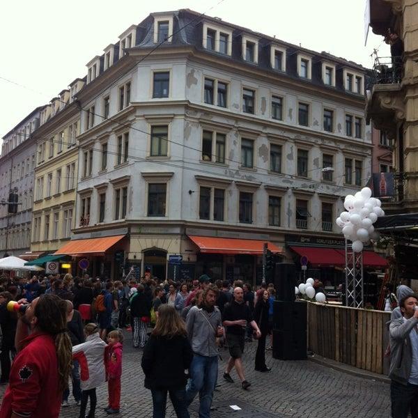 Photo taken at BRN - Bunte Republik Neustadt by Simeon F. on 6/13/2014