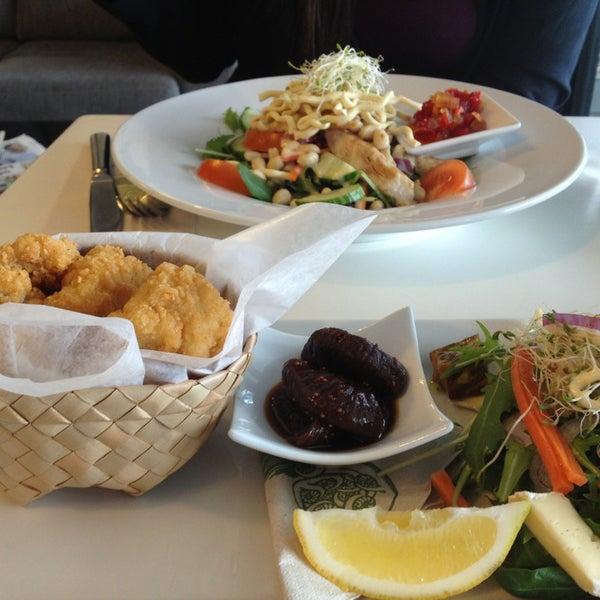 Photo taken at Tuihana Cafe. Foodstore. by Karan M. on 6/13/2013