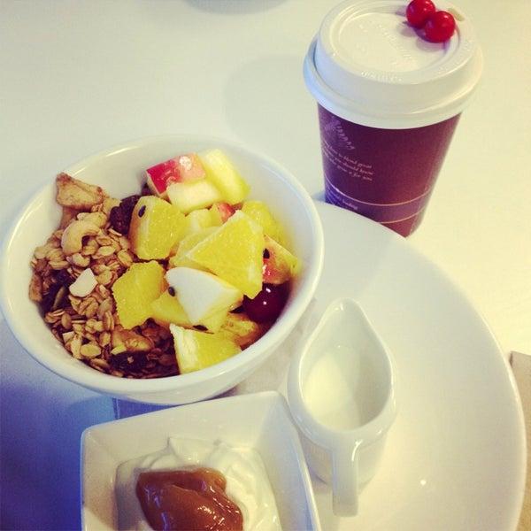 Photo taken at Tuihana Cafe. Foodstore. by Karan M. on 8/14/2013