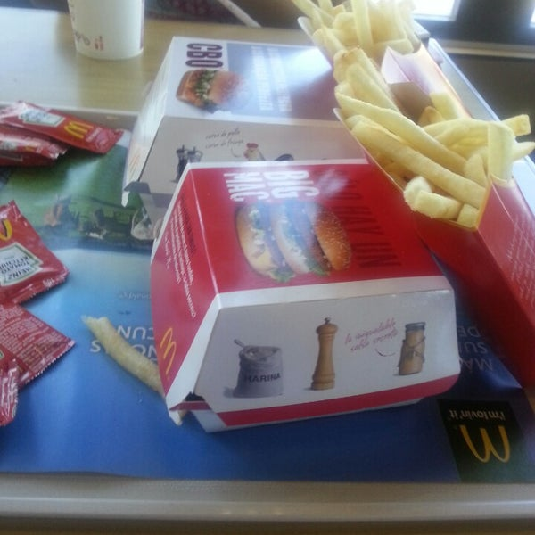 Photo taken at McDonald's by Ada H. on 7/25/2013