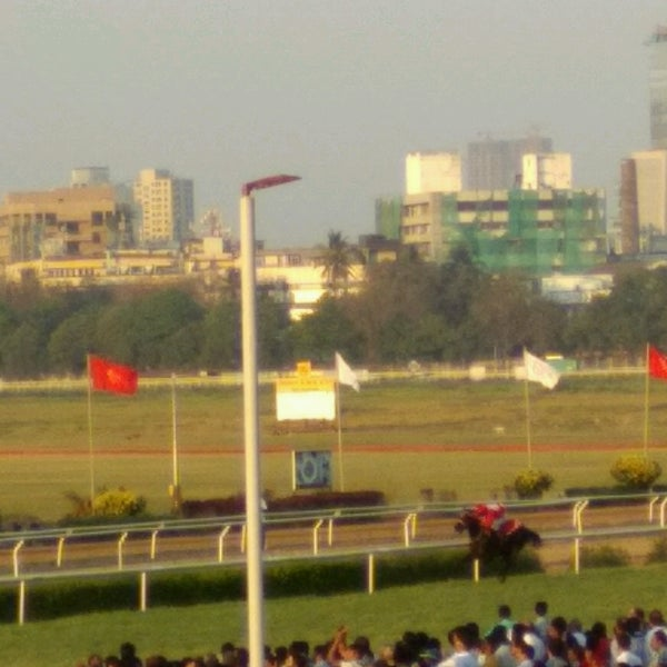 Photo taken at Mahalaxmi Race Course (Royal Western India Turf Club) by GB L. on 2/26/2017