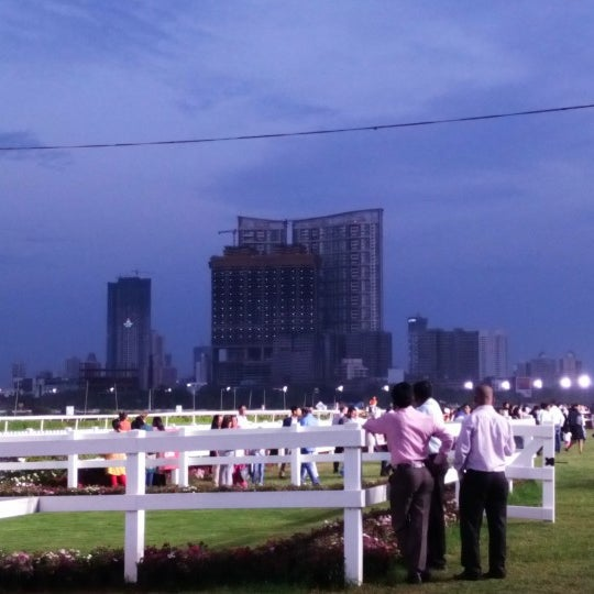 Photo taken at Mahalaxmi Race Course (Royal Western India Turf Club) by GB L. on 2/22/2016