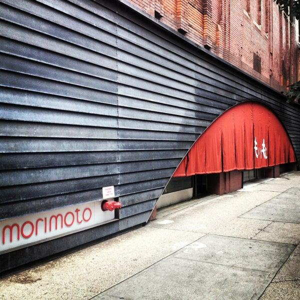 Morimoto New York Restaurant Menu