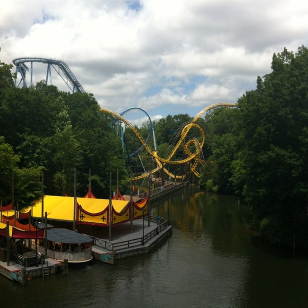 Photo taken at Busch Gardens Williamsburg by Brooke B. on 6/21/2013