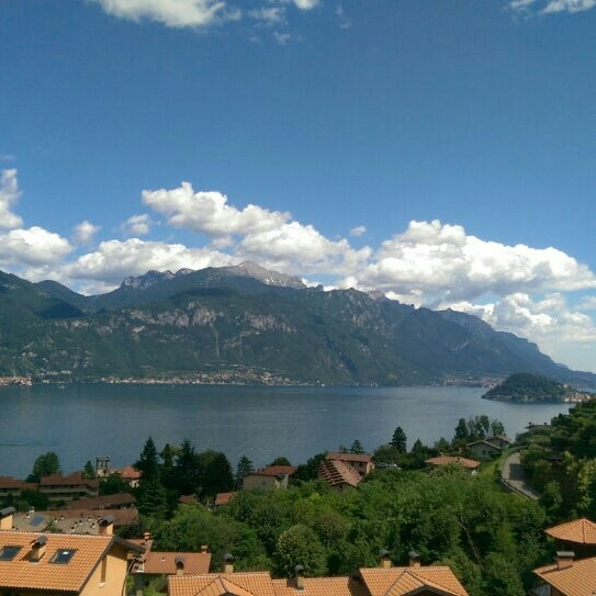 Photo taken at Lago di Lugano by Amber T. on 6/20/2015