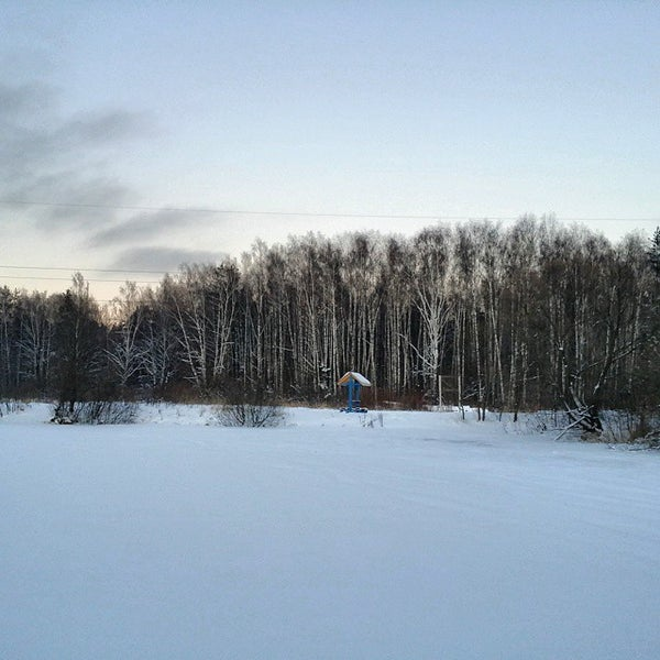 Photo taken at Салтыковский лесопарк by Николай Х. on 12/27/2014