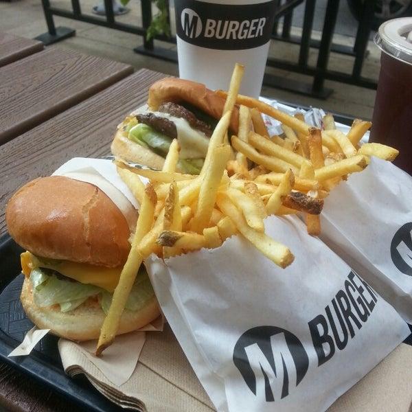Photo taken at M Burger by Sani Ö. on 8/2/2014