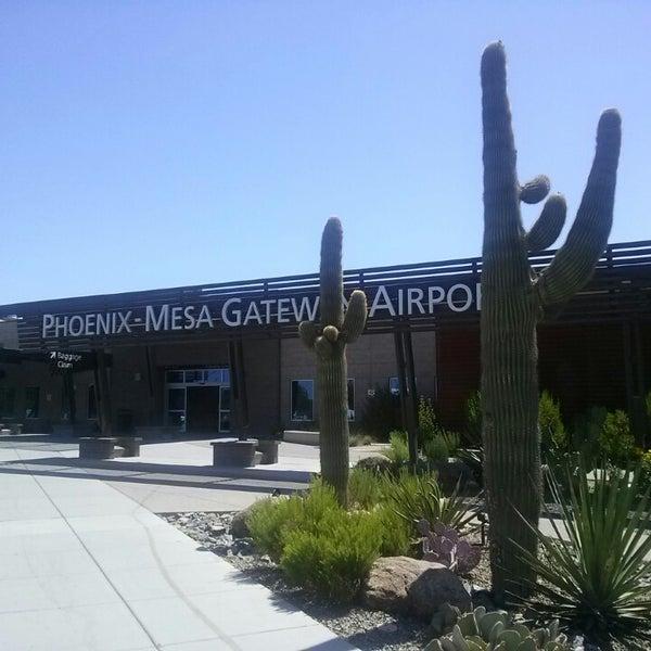 Photo taken at Phoenix-Mesa Gateway Airport (AZA) by Sally H. on 6/10/2013