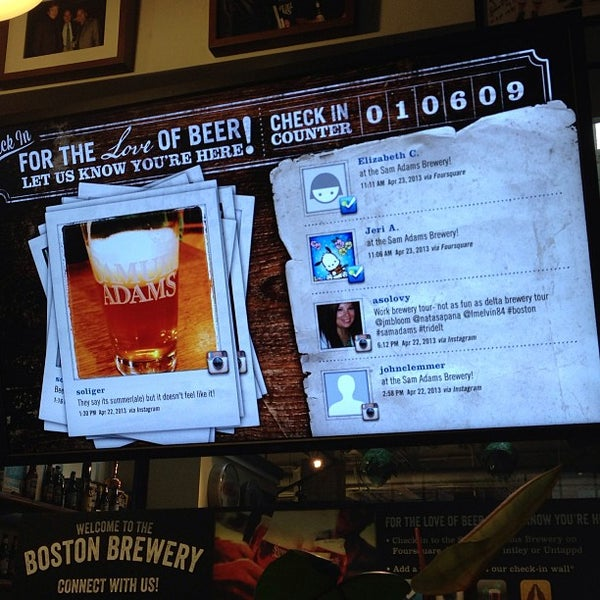 Photo taken at Samuel Adams Brewery by Jeri A. on 4/23/2013