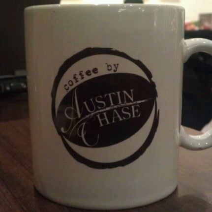 Photo taken at Austin Chase Coffee by Andrew J. on 11/17/2011