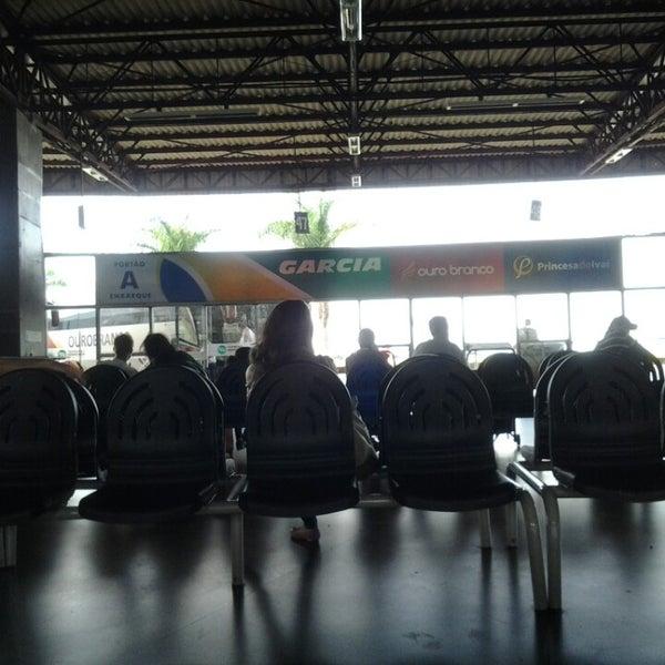 Photo taken at Terminal Rodoviário José Garcia Villar by Allysson d. on 5/18/2013