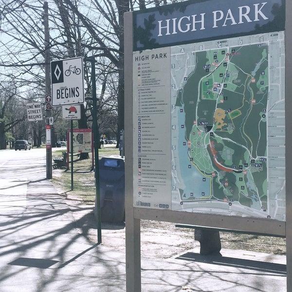 4/26/2018 tarihinde Evelyn P.ziyaretçi tarafından High Park'de çekilen fotoğraf