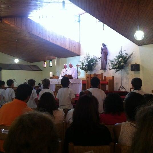 Foto tomada en Colegio San Juan Evangelista por Juan Pablo G. el 11/24/2012