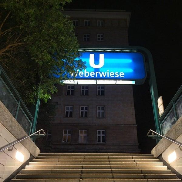 Photo taken at U Weberwiese by Stefan M. on 4/19/2014
