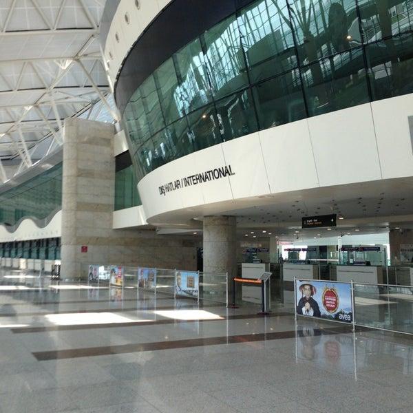 Photo taken at Ankara Esenboğa Airport (ESB) by Bora s. on 7/14/2013