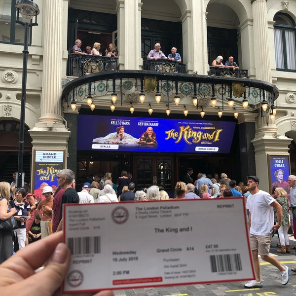Foto scattata a The London Palladium da Ala S. il 7/18/2018