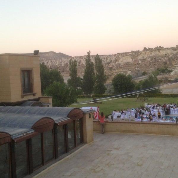 7/5/2013 tarihinde Kaan K.ziyaretçi tarafından Tourist Hotels & Resorts Cappadocia'de çekilen fotoğraf