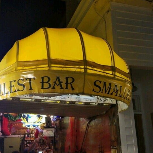 Photo taken at Smallest Bar by El R. on 12/16/2016