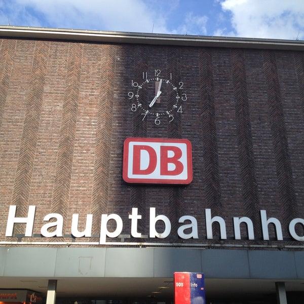 Photo taken at Duisburg Hauptbahnhof by Tanya P. on 5/9/2013