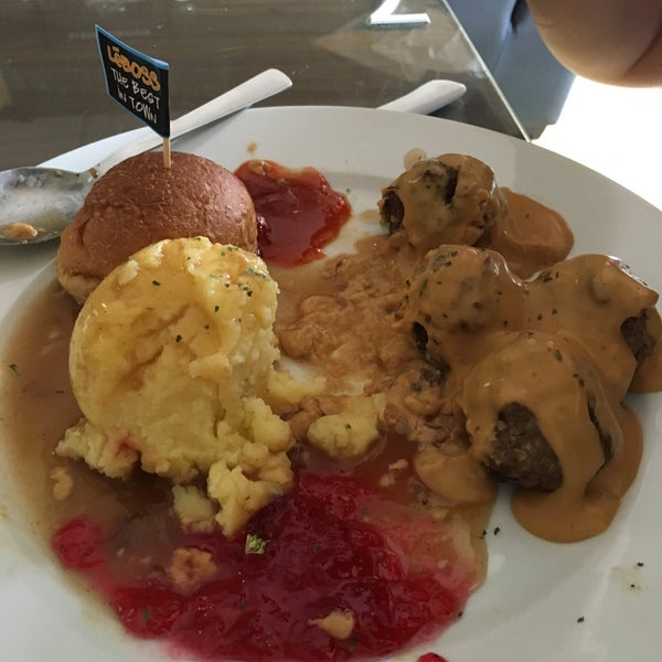Swedish meatball tasteless. Portion is large but meaningless. Don't trust the homemade cheese. That was tasteless as well
