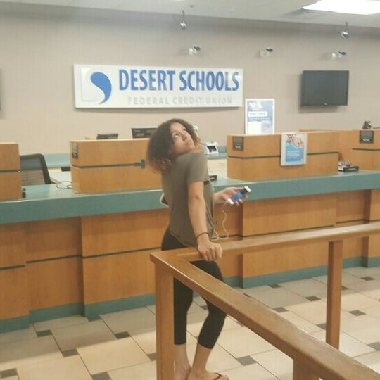 Photo taken at Desert Schools Federal Credit Union by Kelli D. on 3/8/2016