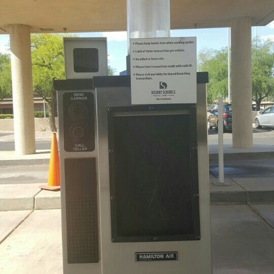 Photo taken at Desert Schools Federal Credit Union by Kelli D. on 4/12/2016