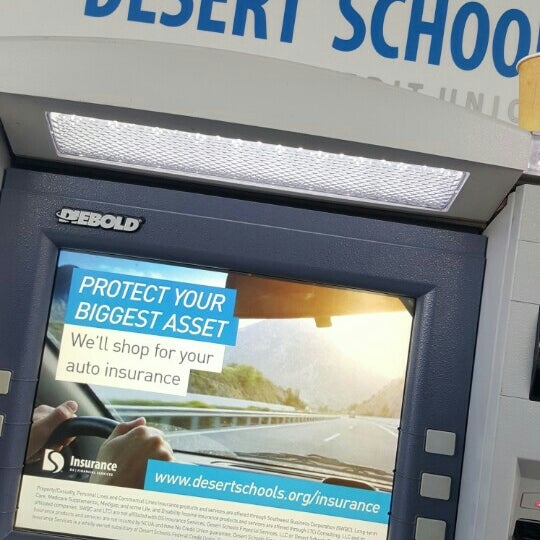 Photo taken at Desert Schools Federal Credit Union by Kelli D. on 11/13/2015
